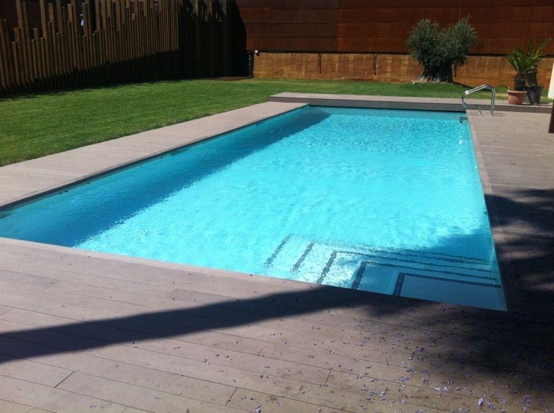 Construcci n de piscinas con hormig n proyectado en for Se hacen piscinas