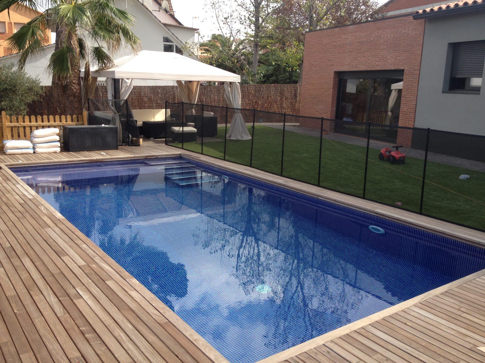 Construcción de piscinas de obra mediante hormigón proyectado en Cataluña